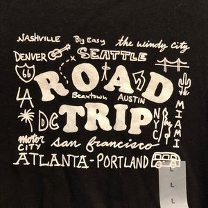Old Navy Graphic T Shirt Road Trip NWT L17P A9P